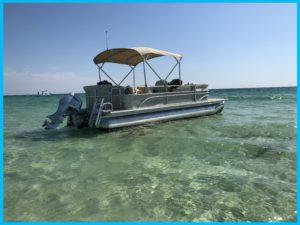 Pontoon boat rentals near me