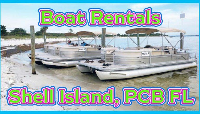 shell island boat rentals